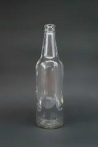 Пивная бутылка КПН-500-Варшава в прозрачном стекле