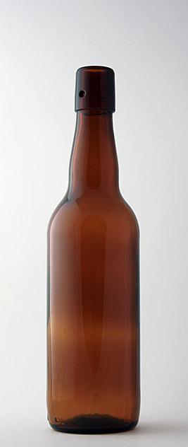 Пивная бутылка БП-1-500-НФ в коричневом стекле