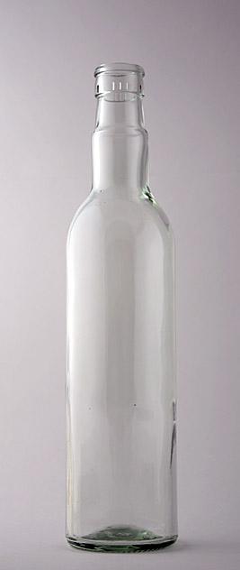 Водочная бутылка КПМ-30-500-ГБ в прозрачном стекле