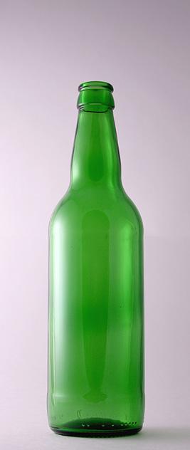 Пивная бутылка КПН-1-500-Bаршава в зелёном стекле