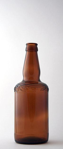 Пивная бутылка КПН-1-500-BRAU BEER в коричневом стекле