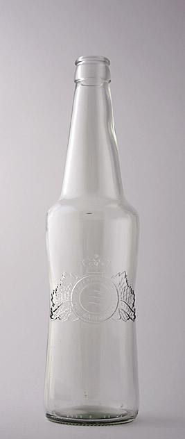 Пивная бутылка КПН-1-500-Балтика-Н в прозрачном стекле