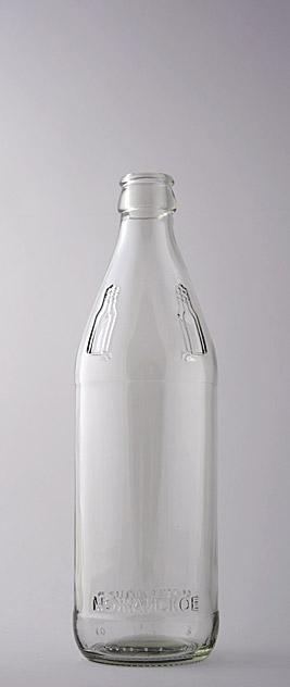 Молочная бутылка КПН-1-500-ММ в прозрачном стекле