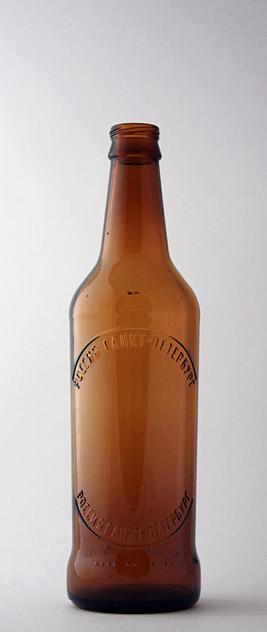 Пивная бутылка КПН-1-500-Невское в коричневом стекле
