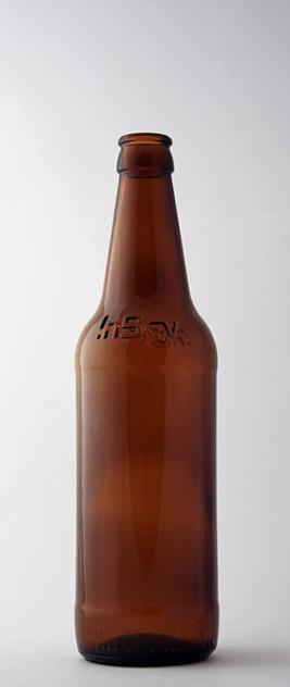 Пивная бутылка КПН-1-500-САН-У в коричневом стекле