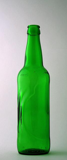 Пивная бутылка КПН-1-500-ТУК в зелёном стекле