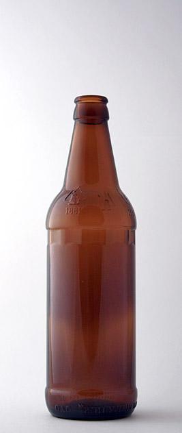 Пивная бутылка КПН-1-500-Варшава в коричневом стекле