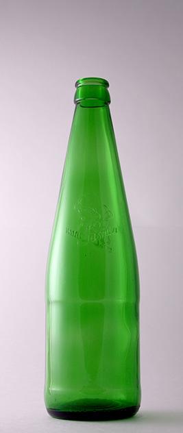 Бутылка для воды КПН-1-500-Жасмин в зелёном стекле