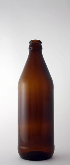 Пивная бутылка КПН-1-500 «Евро» в коричневом стекле