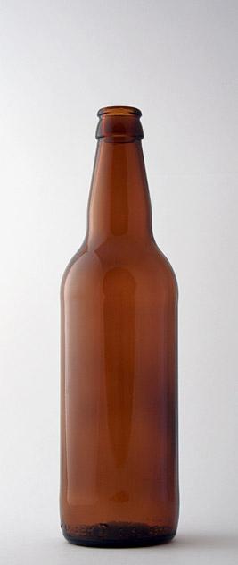 Пивная бутылка КПН-2-500-«Варшава» в коричневом стекле