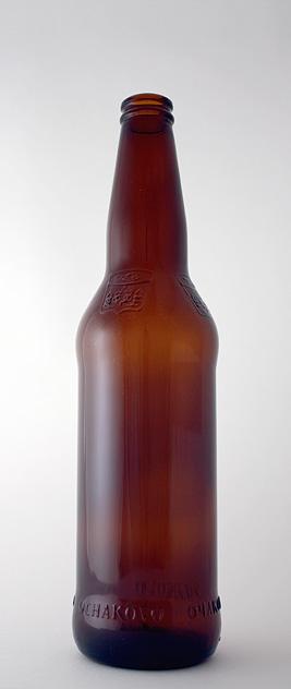 Пивная бутылка КПН-2-500-Очаково в коричневом стекле