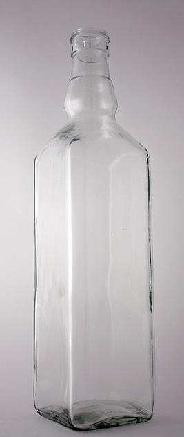 Водочная бутылка КПН-30-700-Штоф в прозрачном стекле