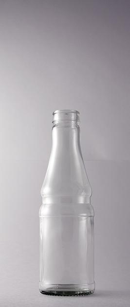 Бутылка для соков КПН-6-250-Sostra в прозрачном стекле