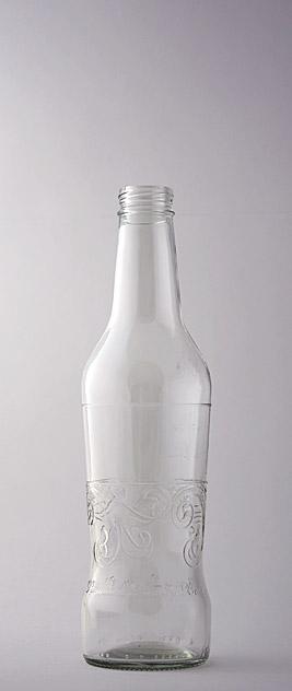 Пивная бутылка ВКП-12-330-REDDS-А в прозрачном стекле