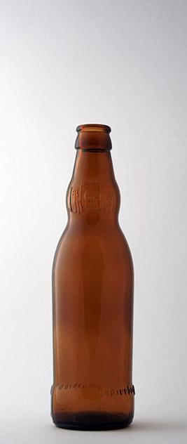 Пивная бутылка ВКП-2-330-Хог в коричневом стекле