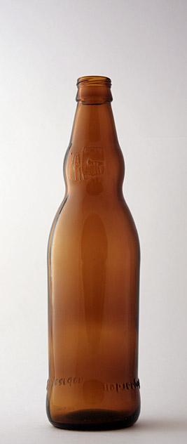 Пивная бутылка ВКП-2-500-Хог в коричневом стекле