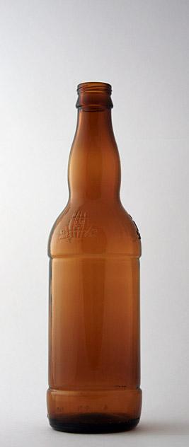 Пивная бутылка ВКП-2-500-ЗоБо в коричневом стекле