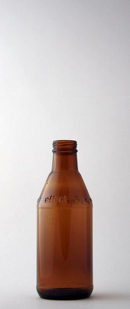 Бутылка для воды ВКП-4-250-SAFT в коричневом стекле