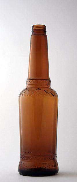Пивная бутылка ВКП-4-500-СибКор в коричневом стекле