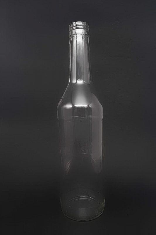 Водочная бутылка В-28-500-ГОСТ в прозрачном стекле