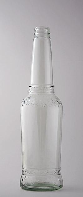 Пивная бутылка ВКП-4-500-СибКор в прозрачном стекле
