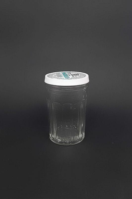 Стакан под пластиковую крышку СП-ВС-2-100-Стакан-PL в прозрачном стекле