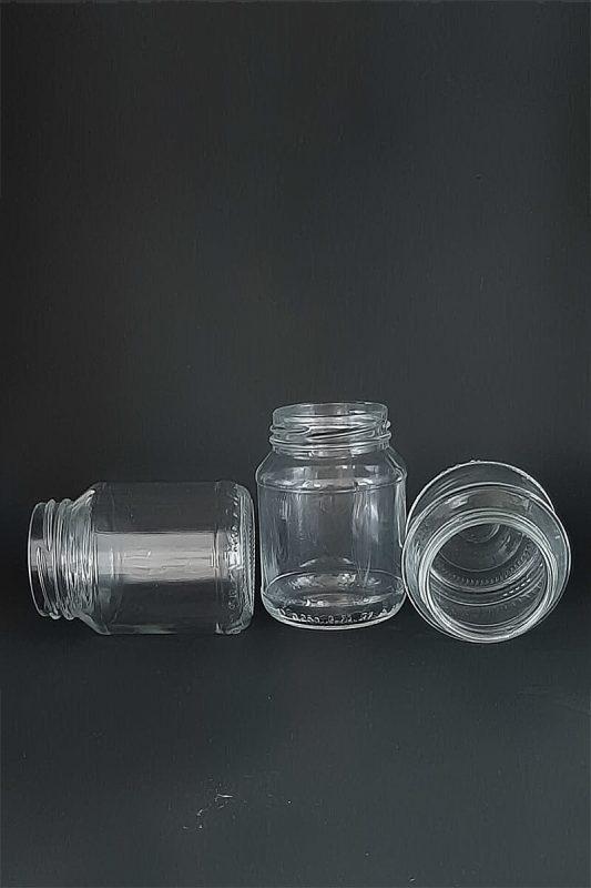 Банка III-3-58-250-Банка3 в прозрачном стекле