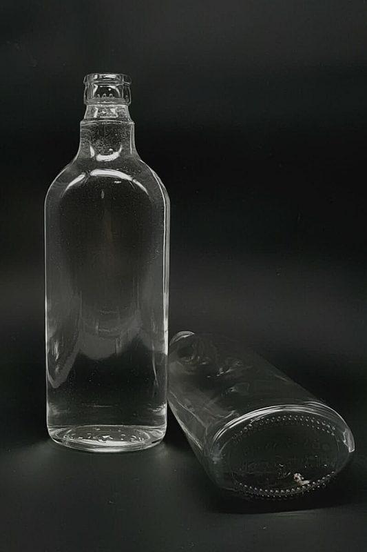 Водочная бутылка КПМ-30-500-Финка в прозрачном стекле