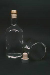 Водочная бутылка П-27-500-Ника в прозрачном стекле