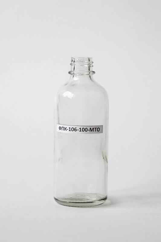 Флакон ФПК-106-100 в прозрачном стекле