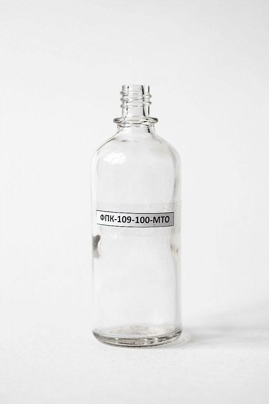 Флакон ФПК-109-100-МТО в прозрачном стекле
